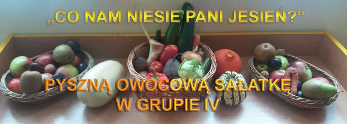 salatka owocowa w grupie IV