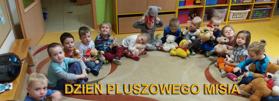 Dzień Pluszowego Misia w Przedszkolu Samorządowym w Krzeszowicach