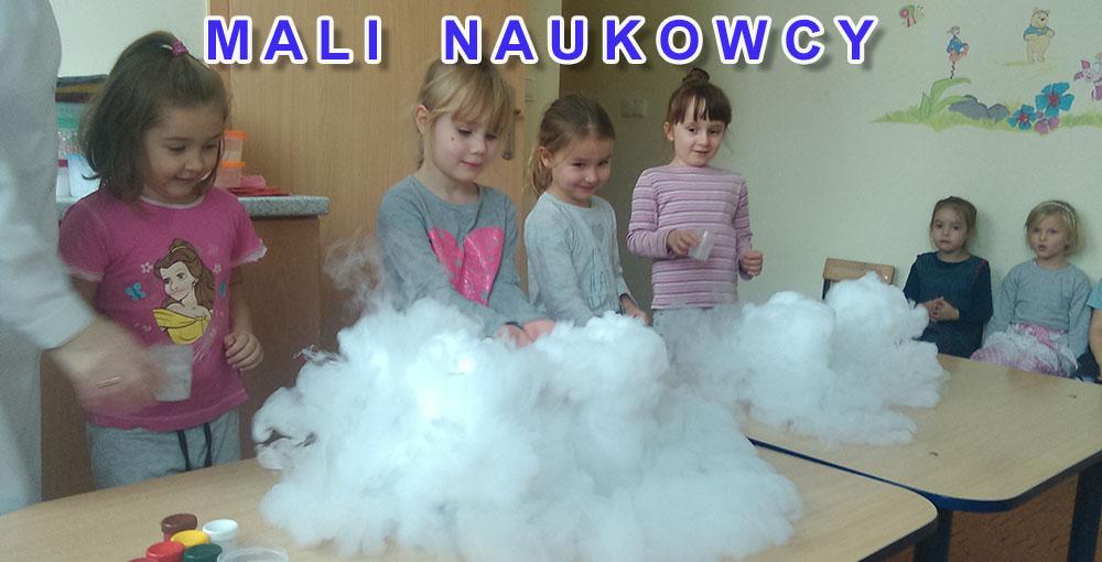 Mali Naukowcy w Przedszkolu Samorządowym w Krzeszowicach