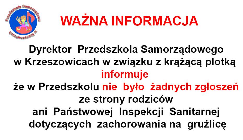 Informacja o gruźlicy