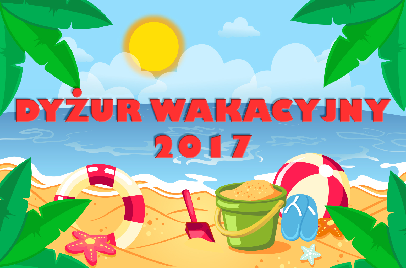 Dyżur wakacyjny w Przedszkolu Samorządowym w Krzeszowicach