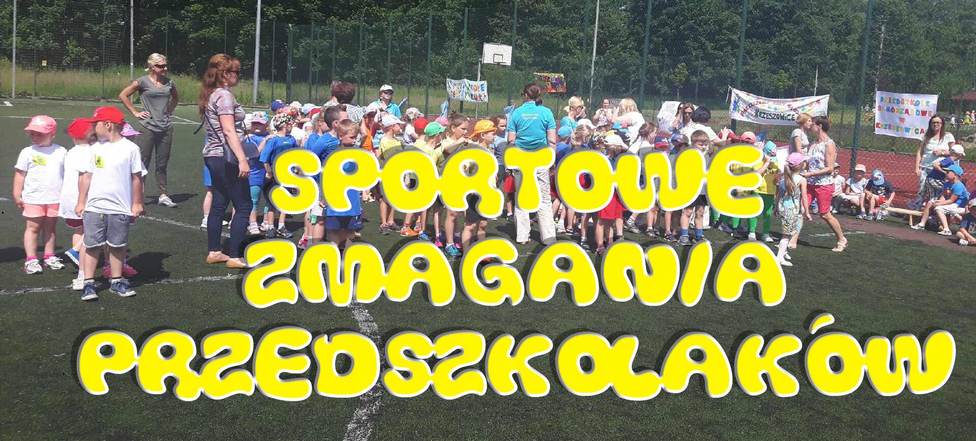 Sportowe zmagania Przedszkolaków