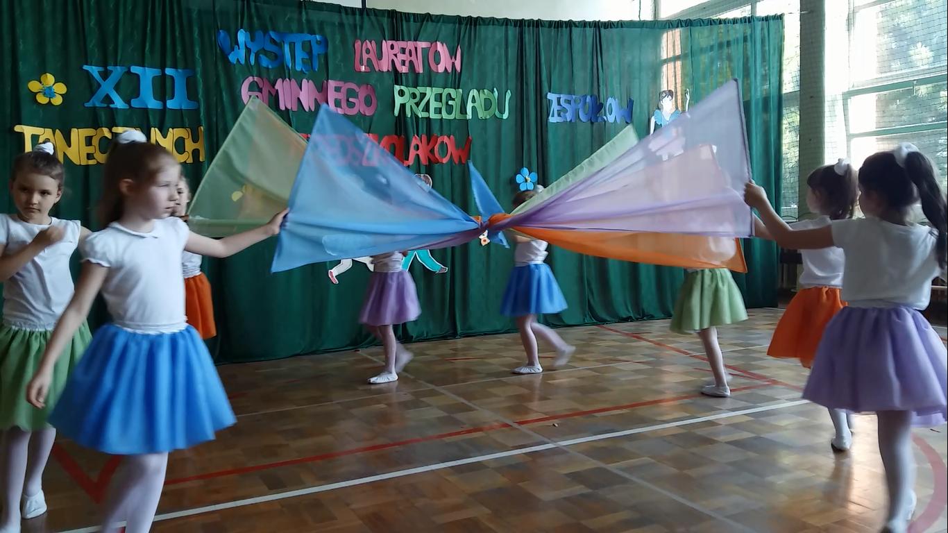 XII Gminy Przegląd Zespołów Tanecznych Przedszkolaków