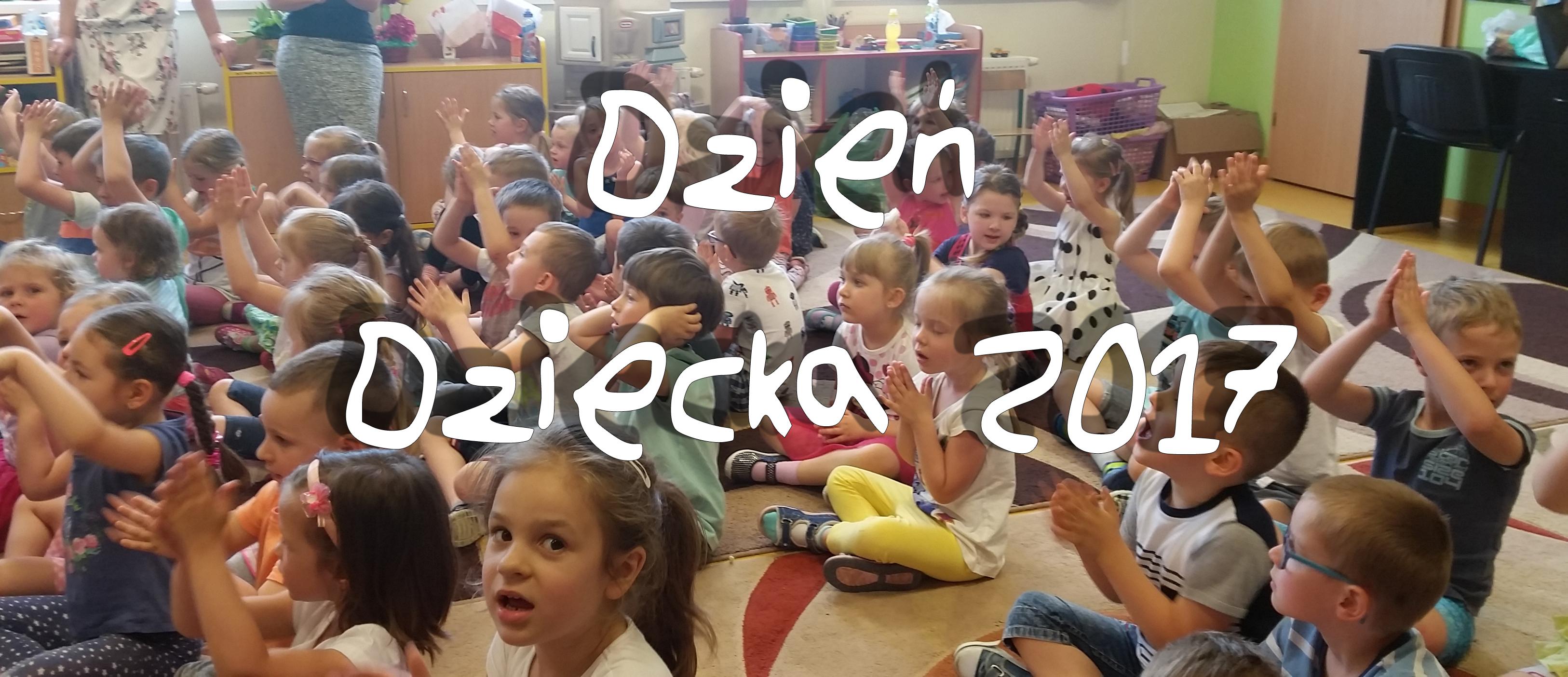 dzień dziecka 2017 w Przedszkolu Samorządowym w Krzeszowicach
